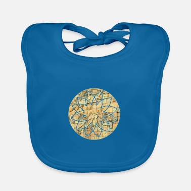 Stone Tablet Buddhist stone tablet - Baby Bib