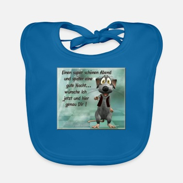 Evening for a nice evening - Baby Bib