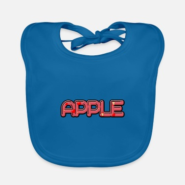 Apple Apple - apple - Baby Bib