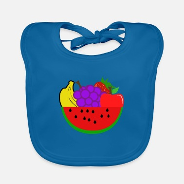 Fruit Fruits - fruits - Baby Bib