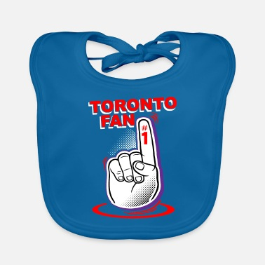 Fan Section Toronto fan - Baby Bib