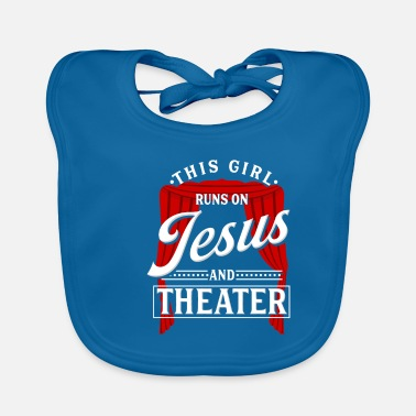 Theater Teachers Theater Girl Actor Theater Teacher Gift - Baby Bib
