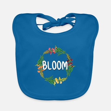 Blooming Bloom - Baby Bib