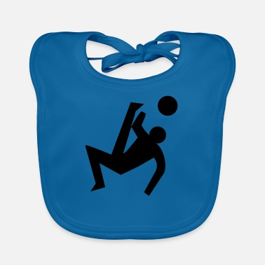 Pictogram Soccer pictogram - Baby Bib