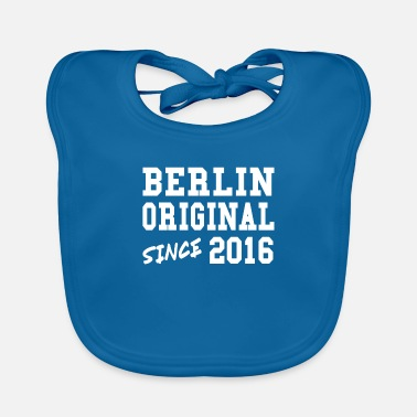 Berlin Original 2016 Shirt Coolkind gift - Baby Bib