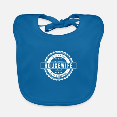 Housewife HOUSEWIFE - Baby Bib