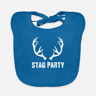 Stag Best Grunge Bachelor's Stag Party T-shirt - Baby Bib