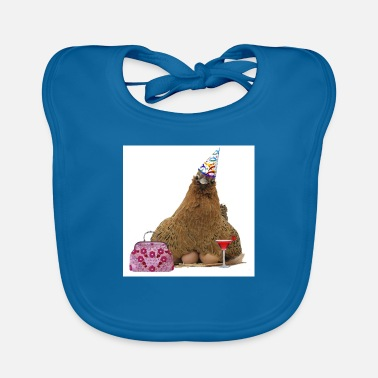 Hen Hen night hen - Baby Bib