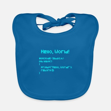 World Hello World - Baby Bib