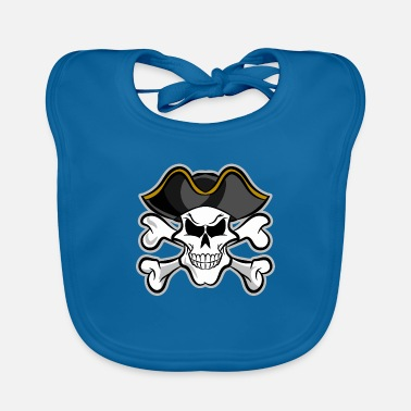 Pirate Party Halloween Pirate Party for Pirate Party's - Baby Bib