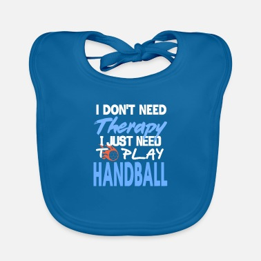 Handball Handball jump throw ball sport ball throw gift - Baby Bib