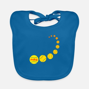 Dominant Tennis in Paris - Baby Bib