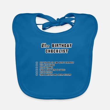 Birthday 21st - Baby Bib