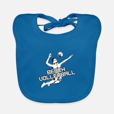 Beach Volleyball Beach volleyball - beach volleyball - volleyball - Baby Bib