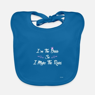 Wife Wedding bachelorette party marriage love gift - Baby Bib