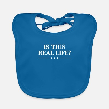 Politics Is This Real Life Politics Political - Baby Bib