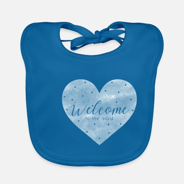 Birth Hello Welcome to the world birth baby gift - Baby Bib