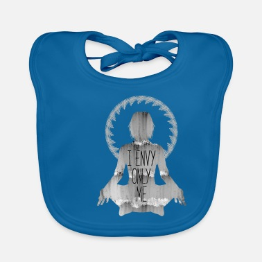 India Yoga Meditation Spirit spirit body - Baby Bib