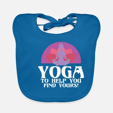 Yoga saying - Baby Bib