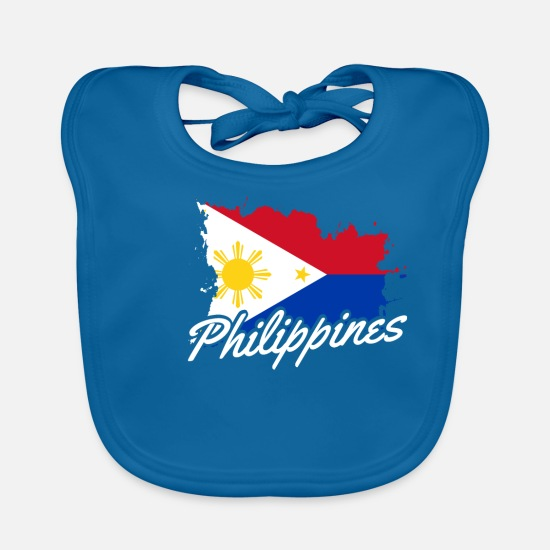 Patriot Baby Clothes - Philippines - Baby Bib peacock-blue