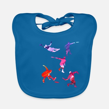 Weekend Disc Golf gift for Disc Golf Player - Baby Bib
