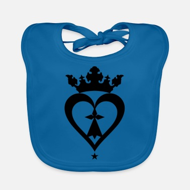 Mark Something breizh hearts mark 610 - Baby Bib