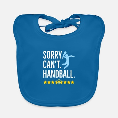 Handbal Sorry Can't Handball - Slabbetje