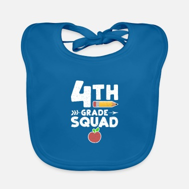 Back To School 4th Grade Squad - 4th grade - Baby Bib
