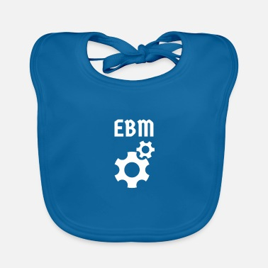 Factory EBM friends - Baby Bib