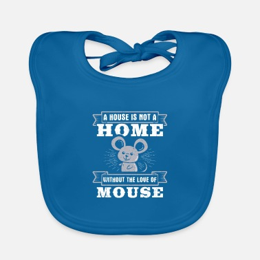 Wild Meme Mice Rats Design Quote Love Of A Mouse - Baby Bib