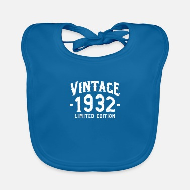 Vintage 1932 Limited Edition - 1932 - Baby Bib