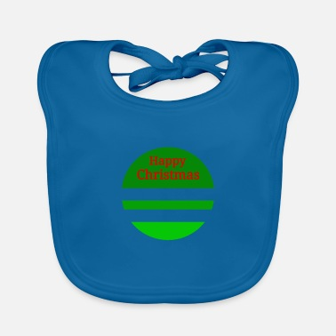 Happy Christmas Happy Christmas Happy Christmas Gift - Baby Bib