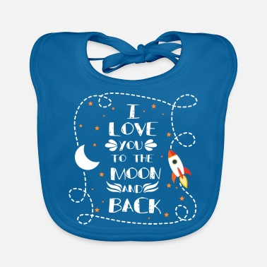 Love I love you - I love you - Baby Bib