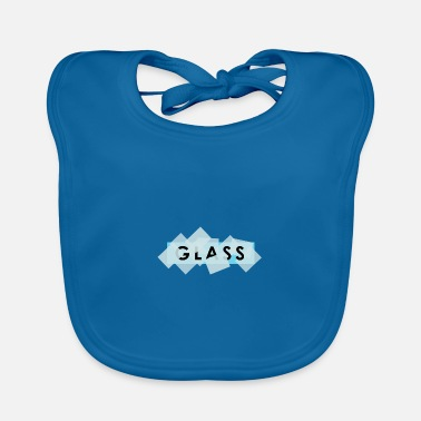 Glasses glass - glass - Baby Bib