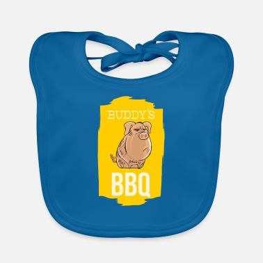 Bratwurst Barbecue with the best - Baby Bib