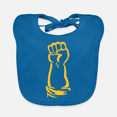 Faust Combat Issues fist - Baby Bib