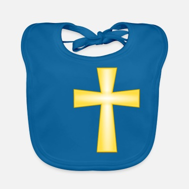 Cross - Knights - Crusaders - Faith - Christian - Baby Bib