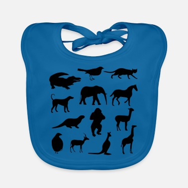Wild Animal Wild animals - Baby Bib