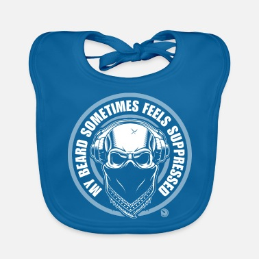Suppression my beard sometimes feels suppressed - Baby Bib