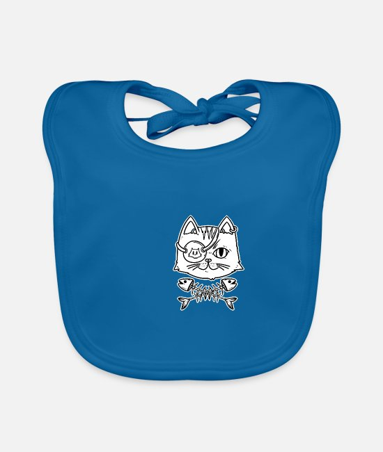 Birthday Present Baby Bibs - Pirate pirate gift Pirate ship Pirate - Baby Bib peacock-blue