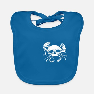 Baltic Sea North German Platt saying gift · Skull - Baby Bib