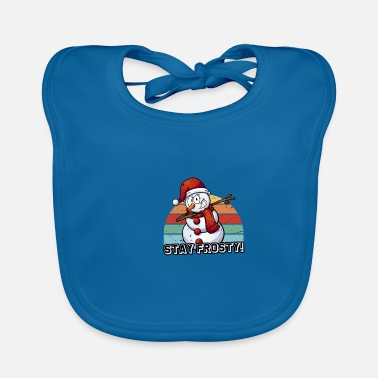 Frosty stay frosty - Baby Bib