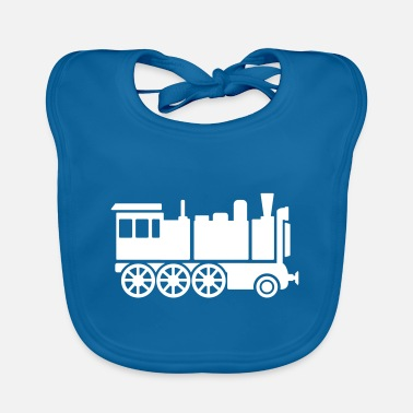 Locomotive locomotive - Baby Bib