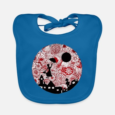 Housemaid Singing nanny Mary - Baby Bib