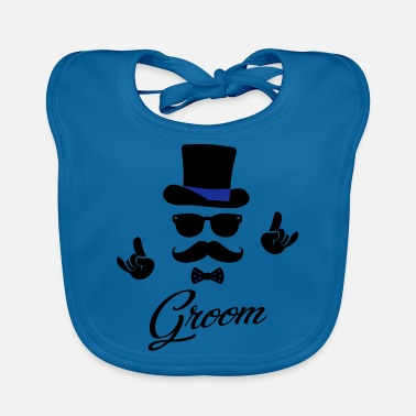 Stag Do Groom Wedding Marriage Stag do night bachelor - Baby Bib