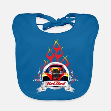 Pinstriping Hot rod - Baby Bib