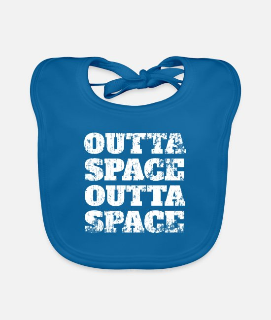 Storm Baby Bibs - Outta Space Outta Space - Baby Bib peacock-blue
