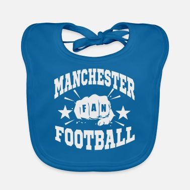 Fan Section Manchester Fan - Baby Bib
