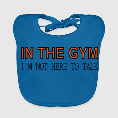 In the gym - Baby Organic Bib