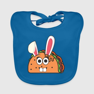 Taco Mexico Mexican Easter Bunny Easter Gift - Baby Organic Bib